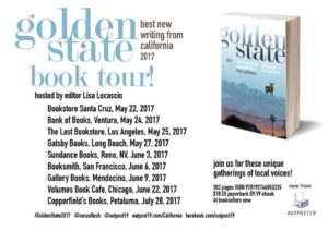 William Hillyard at Golden State Book tour